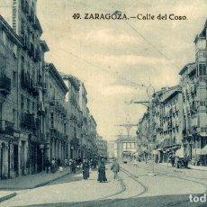 Postales: ZARAGOZA. - EL COSO. Lote 182398621