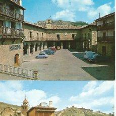Postales: ALBARRACÍN (TERUEL) LOTE DE 15 POSTALES DIFERENTES.. Lote 182578695