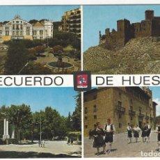 Postales: 4222 - RECUERDO DE HUESCA. Lote 182590816