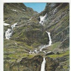 Postales: 24 - BIELSA - VALLE DE PINETA - PIRINEO ARAGONES.- CASCADA MONTE PERDIDO.. Lote 182591455