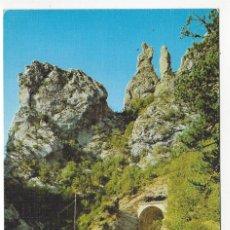 Postales: 10 - ANSO (HUESCA) .- PIRINEO ARAGONES.- EL FRAILE Y LA MONJA. Lote 182593155