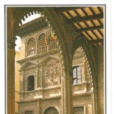 Postales: POSTAL DE ALCAÑIZ ( TERUEL ) Nº2 DESDE LA LONJA LA CASA CONSISTORIAL EDICIONES SICILIA AÑO 1994. Lote 182680136