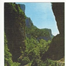 Postales: 2 - CAÑON DE AÑISCLO.- PIRINEO ARAGONES.- CAMINO DE LA FUENTE BLANCA. Lote 182715570