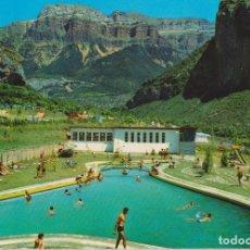 Cartes Postales: TORLA (HUESCA) CAMPING DE ORDESA 1ª CATEGORIA - EDICIONES SICILIA Nº 3 - CIRCULADA. Lote 182867257