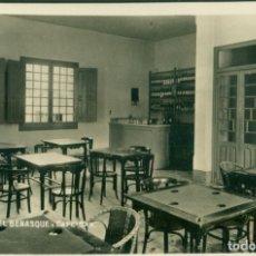 Postales: HUESCA BENASQUE GRAN HOTEL CAFE BAR. HACIA 1930. FOTOGRÁFICA. MUY RARA.. Lote 182894790