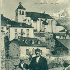 Postales: SALLENT LA IGLESIA. FERMÍN ARRUDI. EL GIGANTE. HACIA 1910. RARA.. Lote 182895180