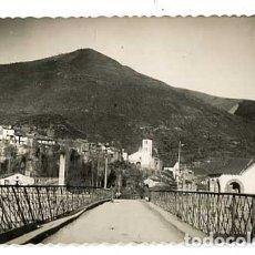 Postales: HUESCA BIESCAS PUENTE SOBRE EL GALLEGO. ED. DARVI 6. CIRCULADA. Lote 182897688