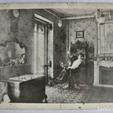 Postales: GABINETE ODONTOLÓGICO DEL DENTISTA CANO (FRENTE CAFÉ AMBOS MUNDOS). CIRCULADA. ZARAGOZA, 1906. RARA. Lote 182905896