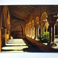 Postales: TARJETA POSTAL - HUESCA - CLAUSTRO ROMANICO DE SAN PEDRO EL VIEJO 39. Lote 183285827