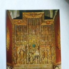Postales: TARJETA POSTAL - ZARAGOZA - CATEDRAL DE LA SEO - ALTAR MAYOR 117. Lote 183286336