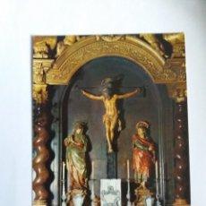 Postales: TARJETA POSTAL - ZARAGOZA - CATEDRAL DE LA SEO - ALTAR DEL SANTO CRISTO DE LA SEO 118. Lote 183286540