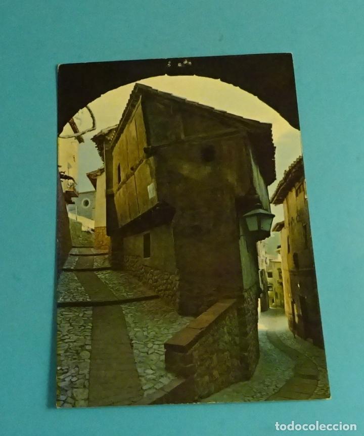 ALBARRACÍN. ARCO DEL PORTAL DE MOLINA. EDICIONES SICILIA (Postales - España - Aragón Moderna (desde 1.940))