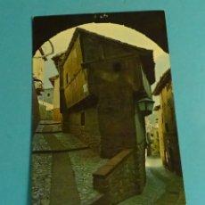 Postales: ALBARRACÍN. ARCO DEL PORTAL DE MOLINA. EDICIONES SICILIA. Lote 183325745