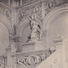 Postales: C Y Z. / 324 ZARAGOZA - PALACIO DEL MUSEO (ESCALERA) / POSTAL CIRCULADA. Lote 183368838