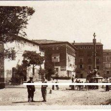 Postales: PRECIOSA POSTAL - TAMARITE (HUESCA) - PASEO HORTAZ. Lote 183603710