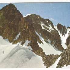 Postales: 39 - BENASQUE (PIRINEO ARAGONES)- CRESTA DEL ANETO DESDE EL CUELLO DE CORONAS. Lote 184009485