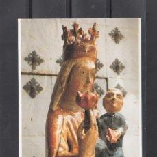 Cartoline: SANTUARIO DE NTRA. SRA. DEL PUEYO. ANTIGUA IMAGEN DE LA VIRGEN. BELCHITE. Lote 184073946