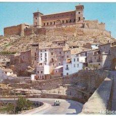 Postales: POSTAL TERUEL - ALCAÑIZ - BARRIO DE LORETO Y CASTILLO CALATRAVO. Lote 186060388