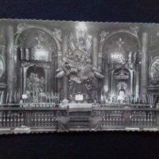 Postales: POSTAL FOTOGRÁFICA ZARAGOZA SANTA CAPILLA DE LA VIRGEN DEL PILAR ESCRITA. Lote 186071130