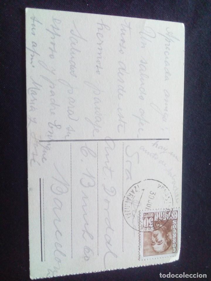 Postales: Postal Monasterio de Piedra La Gran Requijada circulada - Foto 2 - 186071222