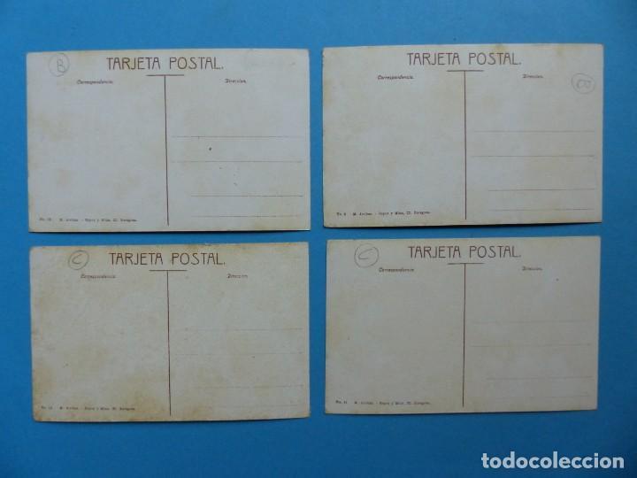 Postales: ARAGON - 47 ANTIGUAS POSTALES DIFERENTES - VER FOTOS ADICIONALES - Foto 17 - 186325073