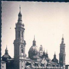 Postales: POSTAL ZARAGOZA - BASILICA DE NTRA SRA DEL PILAR - GARRABELLA. Lote 187163048