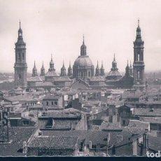 Postales: POSTAL ZARAGOZA - TEMPLO DEL PILAR - GARRABELLA. Lote 187163387
