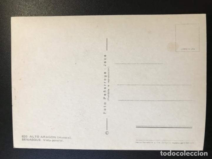Postales: Postal huesca alto aragon vista general benasque foto peñarroya jaca sin escribir ni circular - Foto 3 - 188569622