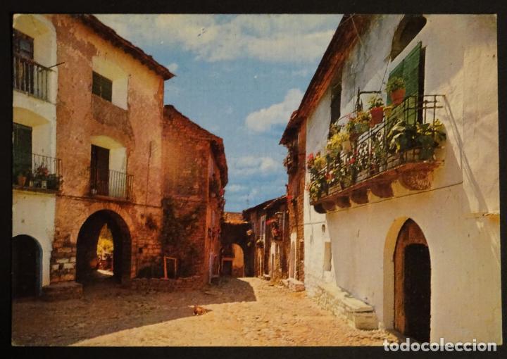 AINSA (HUESCA) PLAZA DE SAN SALVADOR, POSTAL SIN CIRCULAR (Postales - España - Aragón Moderna (desde 1.940))