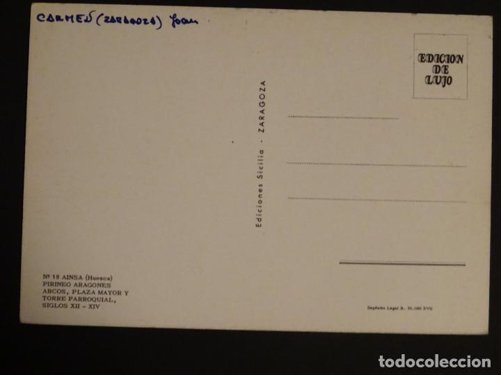 Postales: Ainsa (Huesca) Calle Mayor, postal sin circular - Foto 2 - 188752932