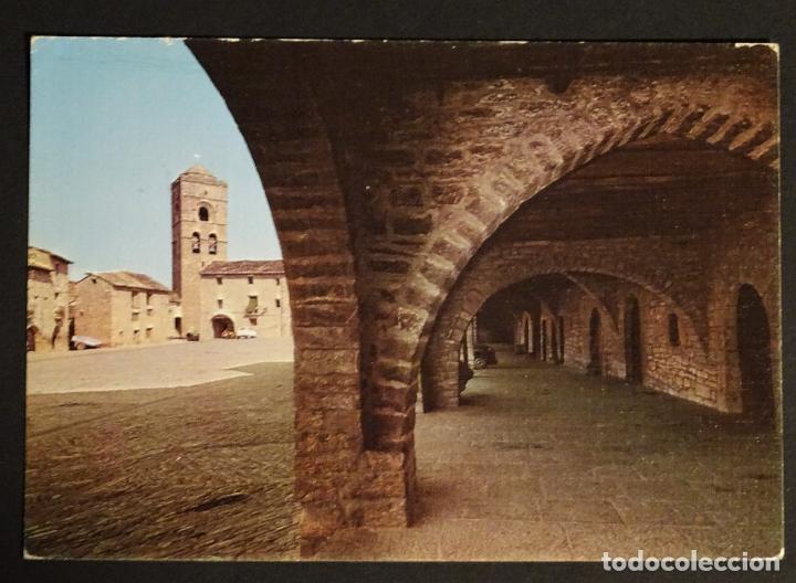 AINSA (HUESCA) CALLE MAYOR, POSTAL SIN CIRCULAR (Postales - España - Aragón Moderna (desde 1.940))