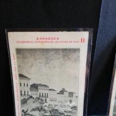 Postales: TARJETA POSTAL DE ZARAGOZA. CELEBRA EL CENTENARIO DE LOS SITIOS EN 1908. RUINAS DE ZARAGOZA.. Lote 189294543