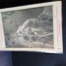 Postales: TARJETA POSTAL DE ZARAGOZA. CELEBRA EL CENTENARIO DE LOS SITIOS EN 1908. RUINAS DE ZARAGOZA.. Lote 189295283