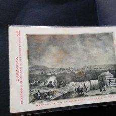 Postales: TARJETA POSTAL DE ZARAGOZA. CELEBRA EL CENTENARIO DE LOS SITIOS EN 1908. RUINAS DE ZARAGOZA.. Lote 189295351