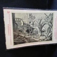 Postales: TARJETA POSTAL DE ZARAGOZA. CELEBRA EL CENTENARIO DE LOS SITIOS EN 1908. RUINAS DE ZARAGOZA.. Lote 189295370