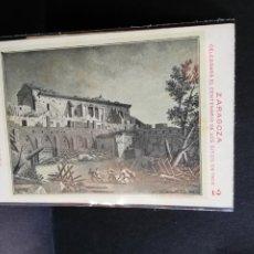 Postales: TARJETA POSTAL DE ZARAGOZA. CELEBRA EL CENTENARIO DE LOS SITIOS EN 1908. RUINAS DE ZARAGOZA.. Lote 189295758