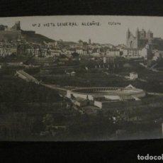 Postales: ALCAÑIZ-VISTA GENERAL-PLAZA DE TOROS-C.ESCUIN-POSTAL FOTOGRAFICA ANTIGUA-VER FOTOS-(65.645). Lote 189573030