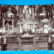 Postales: POSTAL DE ZARAGOZA: SANTA CAPILLA DE LA VIRGEN DEL PILAR. Lote 189899441