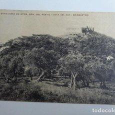 Postales: BARBASTRO. HUESCA. POSTAL NUESTRA SRA. DEL PUEYO. VISTA SUR. 1916. CIRCULADA.. Lote 189991428