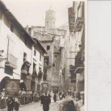 Postais: ALCAÑIZ. PROCESION SEMANA SANTA. 1960. Lote 190933171