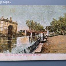 Postales: POSTAL ZARAGOZA Nº 25 TORRERO NUEVO PÙENTE SOBRE EL CANAL EDIC AGUSTIN ALLUÉ ARAGON REV SIN DIVIDIR. Lote 191145280