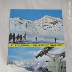 Postales: HUESCA - SALLENT DE GALLEGO. EL FORMIGAL - S/C. Lote 191149148