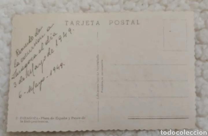 Postales: Postal 1949. Zaragoza - Foto 2 - 191454038