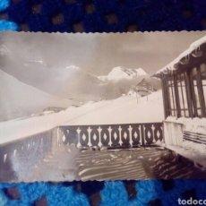 Postales: POSTAL CANDANCHU CANFRANC HUESCA TERRAZA DEL HOTEL SOMPORT. Lote 191474326