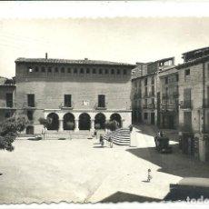 Postales: (PS-62800)POSTAL DE MONZON-PLAZA DEL GENERALISIMO. Lote 191822828