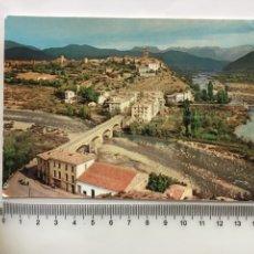 Cartoline: POSTAL. PIRINEOS CENTRALES. AINSA. VISTA GENERAL. FOT. CAMPAÑA Y PUIG FERRAN. H. 1960?.. Lote 192148762
