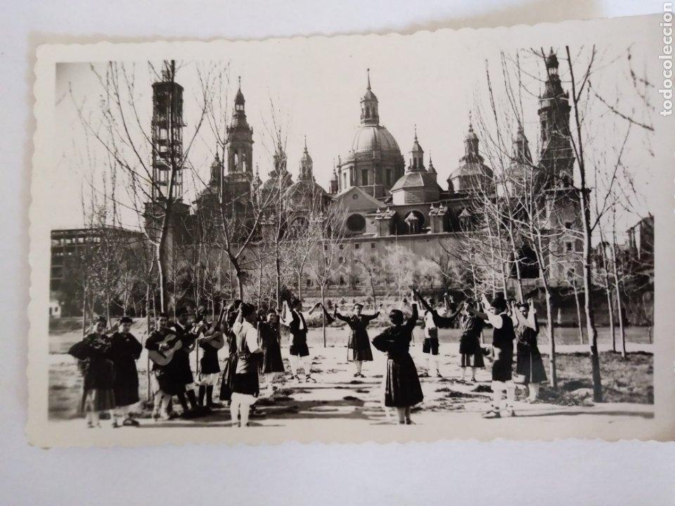 TARJETA POSTAL ZARAGOZA. DANIEL ARBONÉS VILLACAMPA- EDICIONES DARVI N° 44- BAILE REGIONAL ZARAGOZA (Postales - España - Aragón Moderna (desde 1.940))