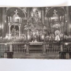 Postales: TARJETA POSTAL EDICIONES GARCIA GARRABELLA ZARAGOZA SANTA CAPILLA DE LA VIRGEN DEL PILAR. Lote 192718811