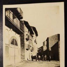 Postales: AREN, HUESCA, ARAGON FOTOGRÁFICA, UN RINCON TIPICO. Lote 193180466