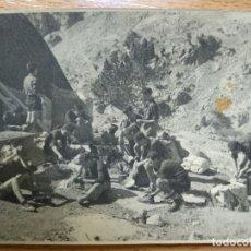 Postales: FOTO. VALLE DE ORDESA HUESCA. CAMPAMENTO. INFONAL. Lote 193580209